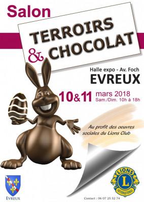 Salon du Chocolat les 10 et 11 Mars ! - Charcuterie à la ferme