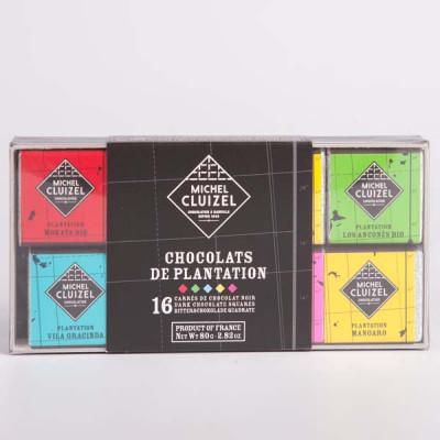 Etui Carré Chocolats de Plantation