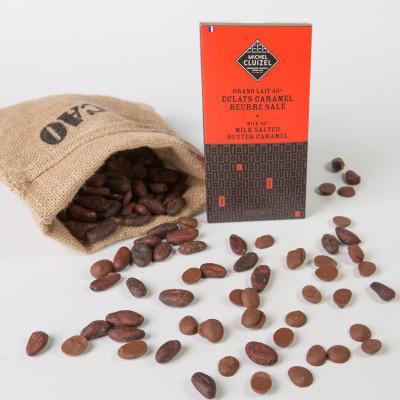 Grand Lait 45 % Eclats Caramel Beurre Salé