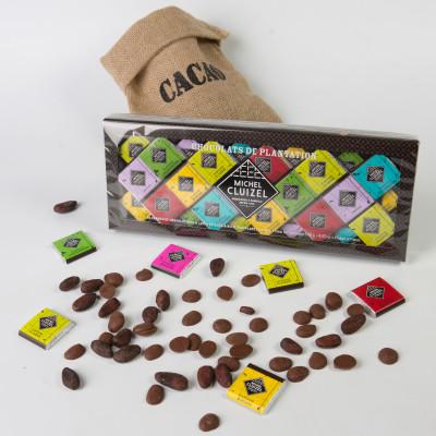 Coffret Carrés Chocolat de Plantation