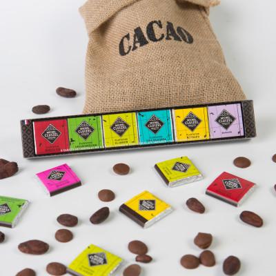 Reglette Carrés Chocolats de Plantation