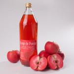 Jus de pomme rouge
