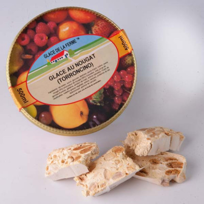 Crème Glacée Nougat