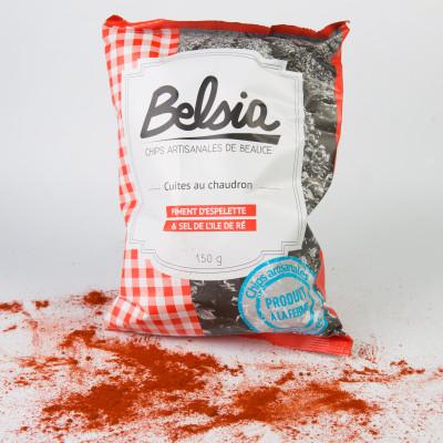 Chips Belsia au Piment D'Espelette