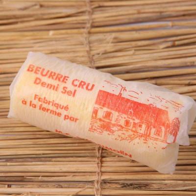 Beurre cru 1/2 sel