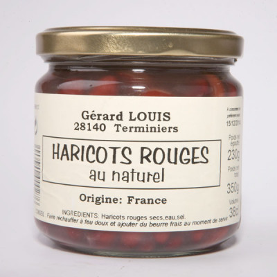 Haricots rouges petit pot